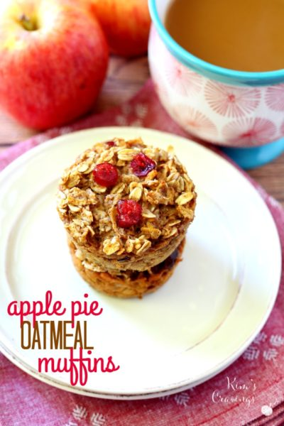 Quick, Healthy, Cheap Recipe #12 – Apple Pie Oat Muffins