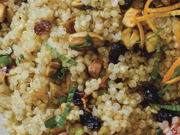 ORANGE PISTACHIO QUINOA