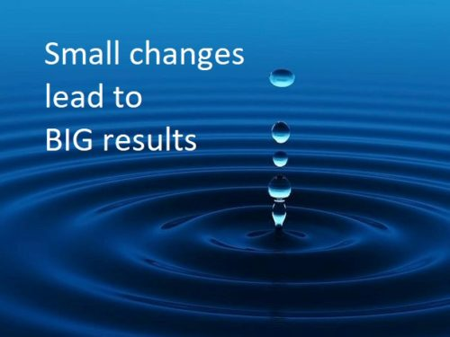 Wrapping it up: Small Changes = Big Results