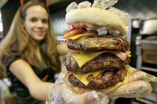 Huge burger